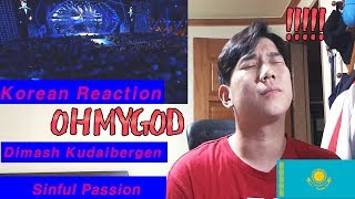 Your Ears Will Thank Me For This (Dimash Kudaibergen - Sinful Passion) Sochi 2018 Korean  Reaction