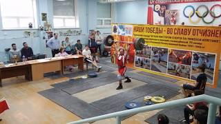 КМС Деньгин Виталий (85 в.к.) толчок 150 кг