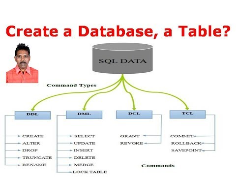 3. How to Create a Database, a Table, and Insert some data using SQL?