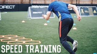 Speed Training In London | A Day In The Life Of A Footballer/Soccer Player
