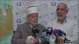 مفتي القدس يدعو لإنقاذ الأقصى من مخططات الاحتلال