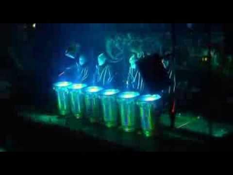 Glowman show contrataci n directa tambores de agua for Tambores para agua