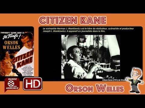 Citizen Kane de Orson Welles (1941) #MrCinéma_36