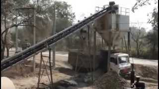 Efficient Mixing By Pug Mill Unit Of Wet Mix Macadam Plant