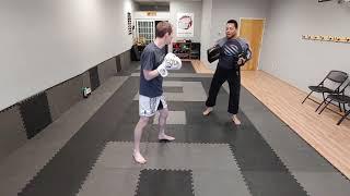 Kickboxing Pad Drills Workout