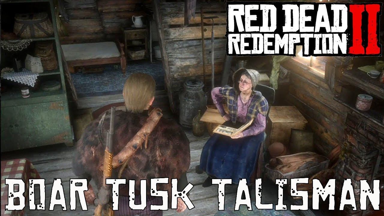 Red Dead Redemption 2: Talismans Guide - Crafting Materials and