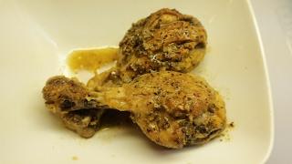 Easy Lemon Pepper  Chicken Legs