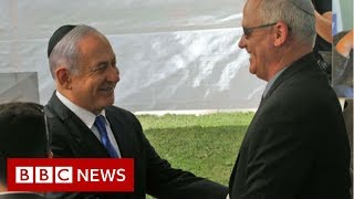 Israel election: Netanyahu urges rival Gantz to join unity government - BBC News