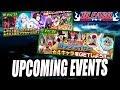UPCOMING EVENTS (Inc Zanpakutō Nightmare Mode) Bleach Brave Souls