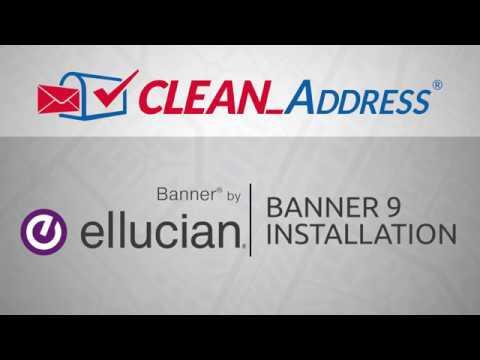 Runner EDQ's Clean_Address Banner 9 Installation Guide