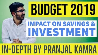 BUDGET 2019 Review by Pranjal Kamra  | Impact on STOCK MARKET