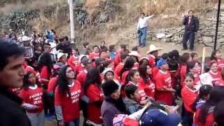 Huaylas 2014 entrada del Barrio de Yacup dia 06/07/14