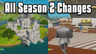 Everything New From Fortnite Chapter 2 Season 2! - Battle Pass, Map, & More!