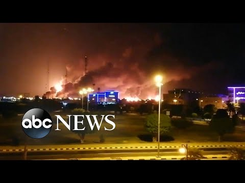 Iran fired cruise missiles at Saudi oil facility l ABC News