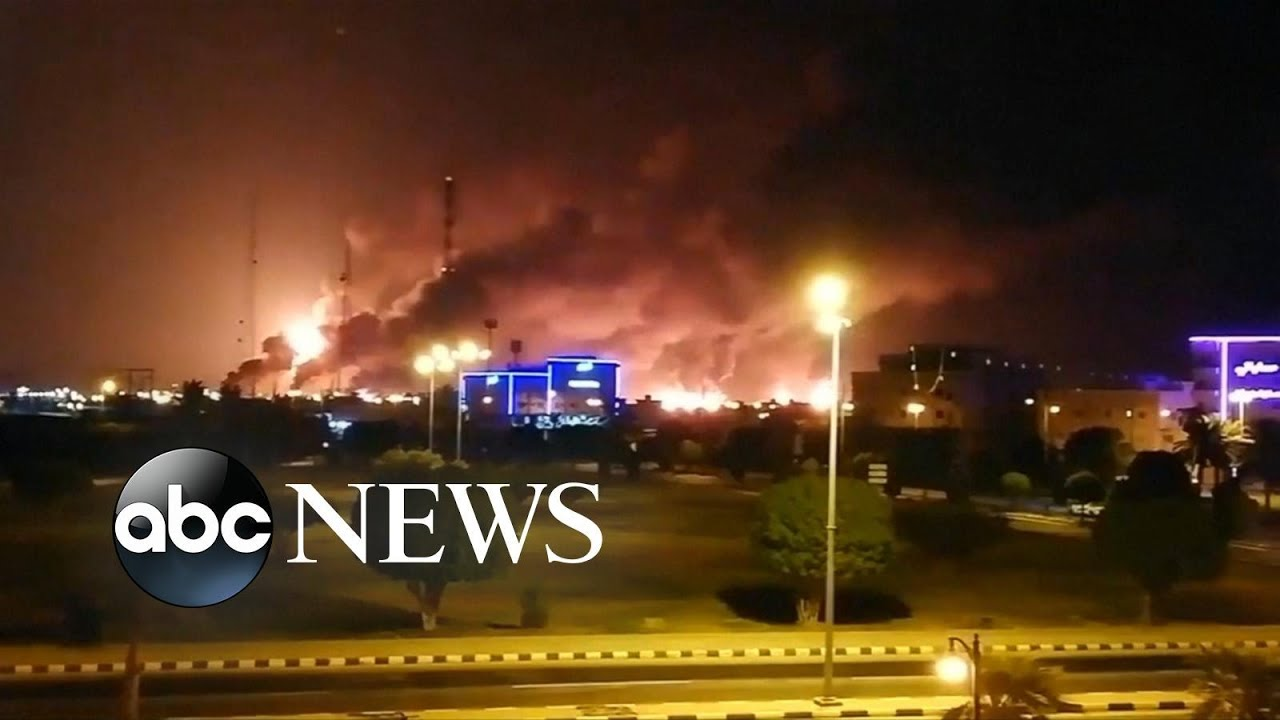 Download Iran fired cruise missiles at Saudi oil facility l ABC News