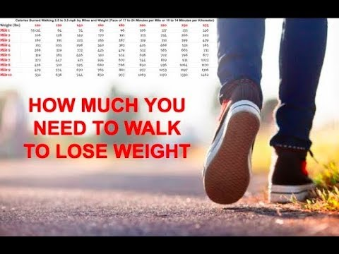 How Much You Need To Walk A Day To Start Losing Weight