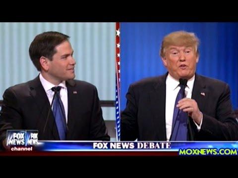 DONALD TRUMP vs EVERYBODY ELSE Republican Debate In Detroit Michigan Pt.2