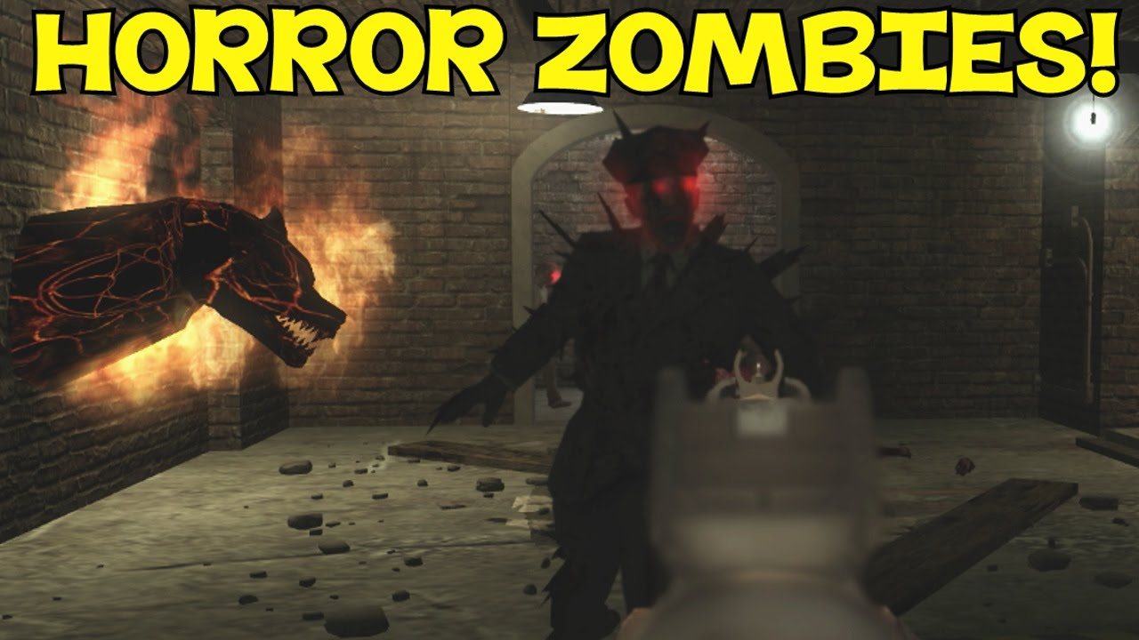 EPIC MOB OF THE DEAD STYLE MAP HORROR  Custom Zombies