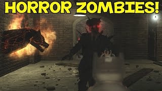 """""""EPIC MOB OF THE DEAD STYLE MAP!"""" (HORROR!) - Custom Zombies """"PSYCHIATRIC HOSPITAL"""" FINALE"""