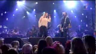 "Shirley Clamp & Nicke Borg: ""Om du lämnade mig nu"" (Sweden, 2013)"