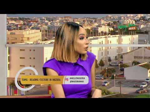 READING CULTURE IN NIGERIA with Tobi Eyinade   HELLO NIGERIA