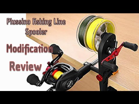 Plussino Fishing Line Spooler| Review| Modification
