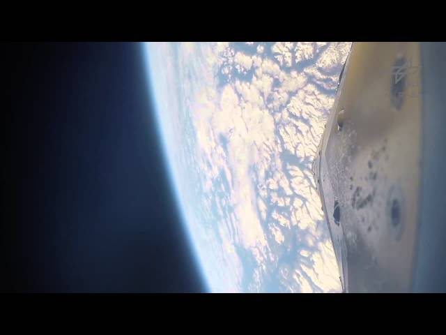 Dizzying Up And Down Rocket Flight Captured By On-Board Cam | Video