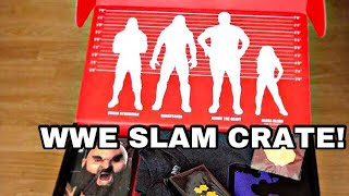 """Wwe Slam Crate """"LARGER THAN LIFE"""" Unboxing!"""