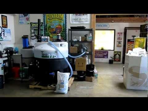 Organic Biological Compost Tea Brewer - BioDiversity BioDiversiTea - Hydroponics San Diego Gorilla