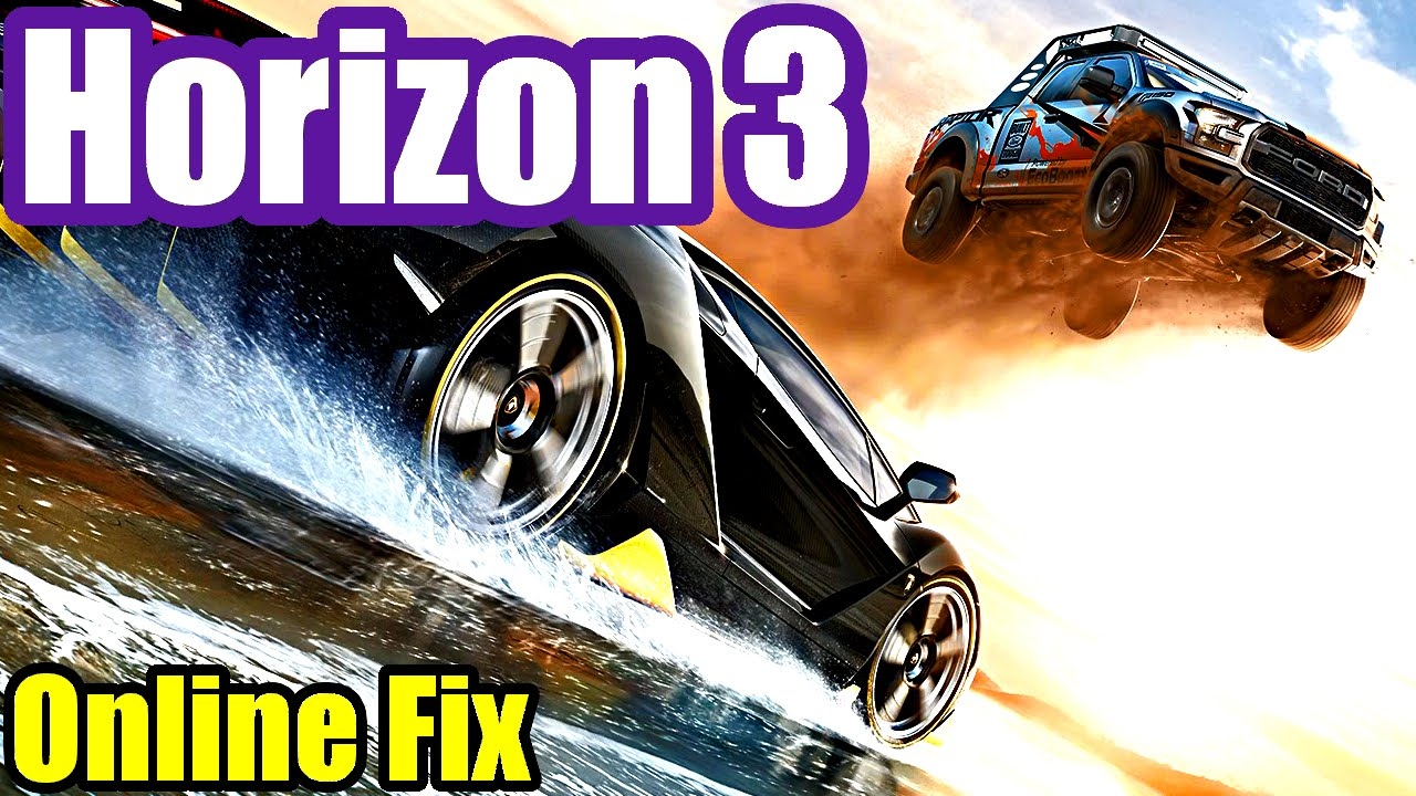 How To Fix FORZA HORIZON 3 (Xbox One) Online Multiplayer Co-Op