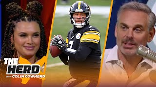 Colin Cowherd plays 'Ben There, Done That', guesses facts about Ben Roethlisberger | NFL | THE HERD