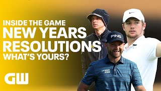 What Are Your New Year Resolutions? 🎊 | Golfing World