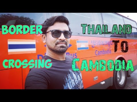 To Cambodia 🇰🇭 From Thailand By Bus | Avoid Scams - Travel Tips | Cambodia