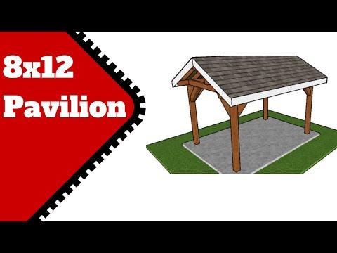 8x12 Pavilion Plans Free