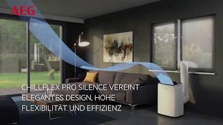 AEG ChillFlex Pro Silence AXP26U558HW   Mobiles Klimagerät der neuesten Generation