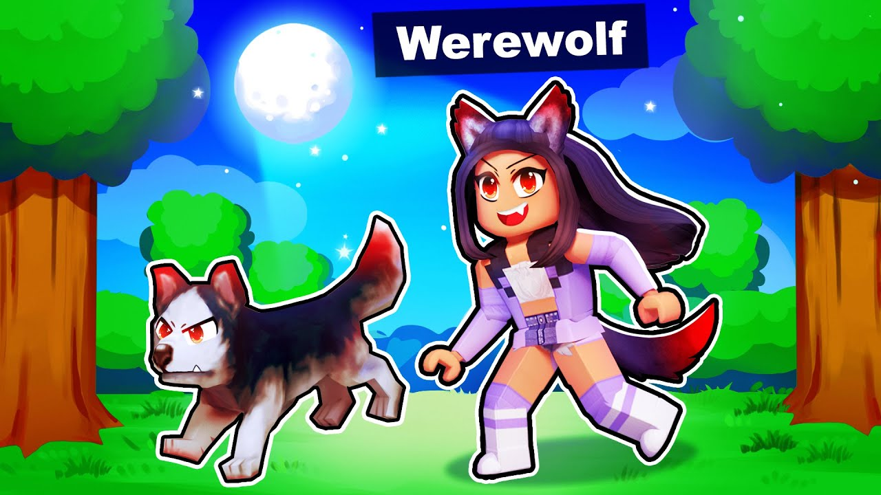 Download Playing as a WEREWOLF in Roblox!