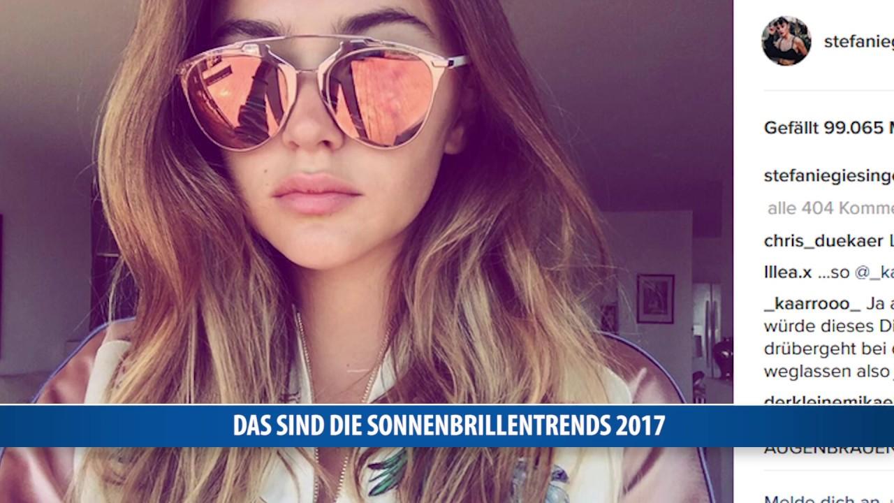 Das sind die Sonnenbrillen Trends 2017
