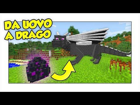 COME FARE SCHIUDERE L'UOVO DI ENDER DRAGON! - Minecraft ITA