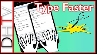 iPhone Tips - How To Type Faster With The iPhone Keyboard