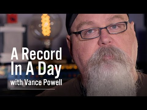 Tracking A Record In A Day with Vance...