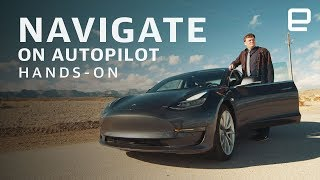 Tesla's Navigate on Autopilot Hands-On: Road trip to CES 2019!
