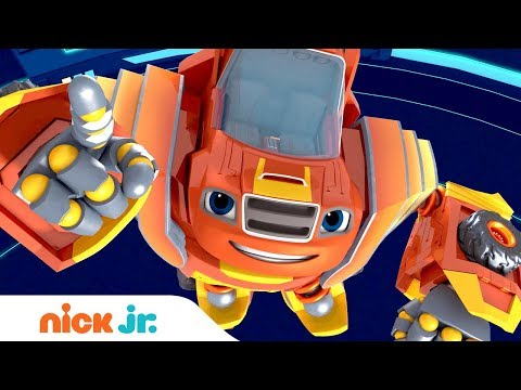 Blaze and the Monster Machines 🤖 Robot Riders 🚗 Coming Memorial Day!! | Nick Jr.