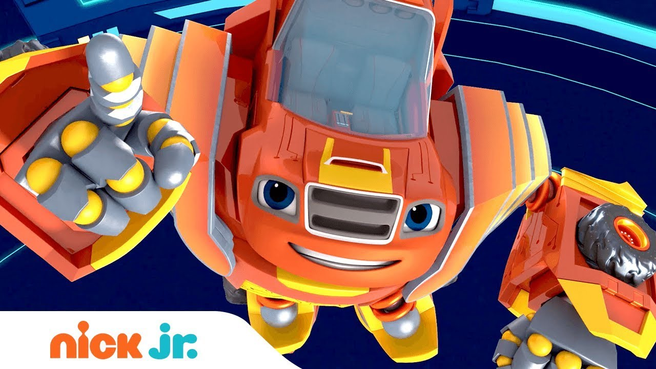 Robot Riders Coming Memorial Day Blaze The Monster Machines Nick Jr Youtube