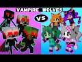 VAMPIRE BOYS vs WEREWOLF GIRLS MONSTER SCHOOL ANIMATION