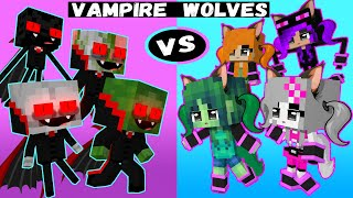 VAMPIRE BOYS vs WEREWOLF GIRLS MONSTER SCHOOL ANIMATION