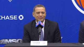 NYK Press Conference: New Front Office on Knicks' Future