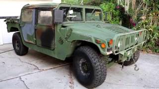 Humvee resto mod project part 1: First look and plans