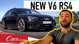 New V6 Audi RS4 Avant - More Torque, More Fun?