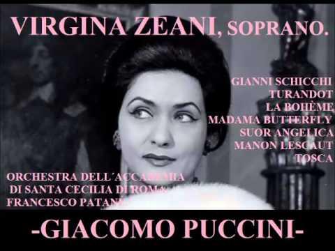 VIRGINIA ZEANI. Arias Giacomo Puccini.