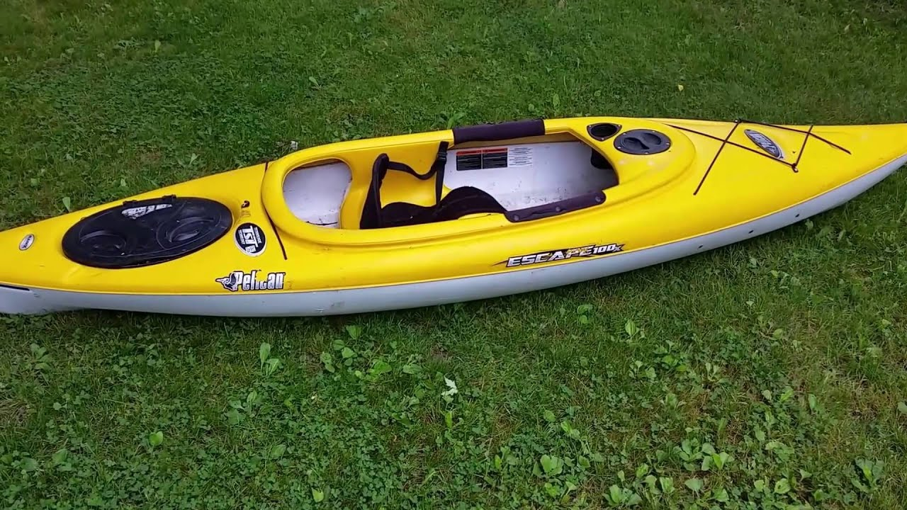 Pelican Escape 100X 10 ft Kayak Real Life Review